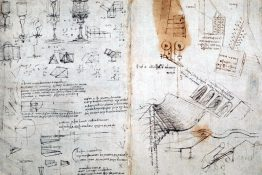 The British Library Has Fully Digitized 570 Pages of Leonardo da Vinci's Visionary Notebook