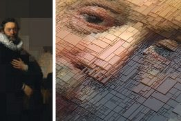 Designer Uses an Algorithm to Create 3D Color Studies of Historic Portraits